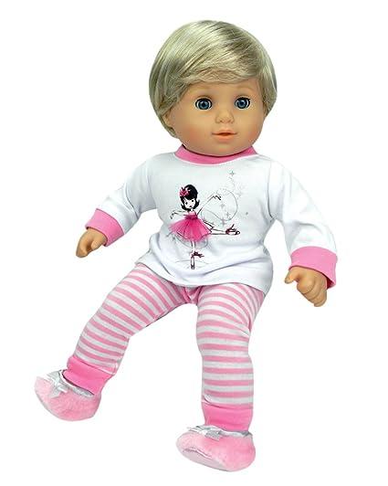 c7e9766d1f Amazon.com  Sophia s 15 inch Baby Doll Ballerina PJs