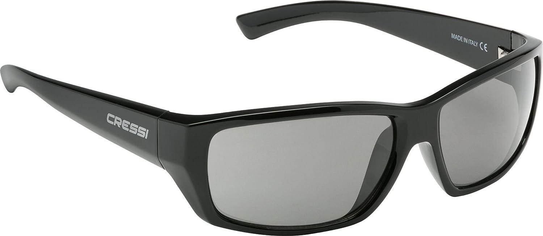 Cressi Prestige Havana Sonnenbrille, Braun/Linsen Braun, Uni