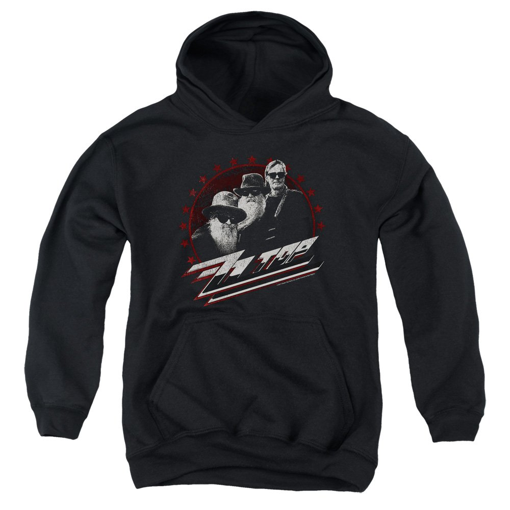 Zz Top The Boys Unisex Youth Pull-Over Hoodie for Boys and Girls