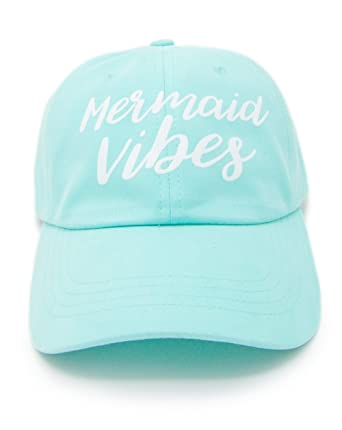 220671fd29c Mermaid Bachelorette Party Hats - Mermaid Vibes and Bride Vibes Bridal  Party Hats (Mint:Mermaid Vibes, 1) at Amazon Women's Clothing store: