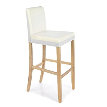 Meryl Chaise Haute Pour Plan De Travail H66cm Blanc