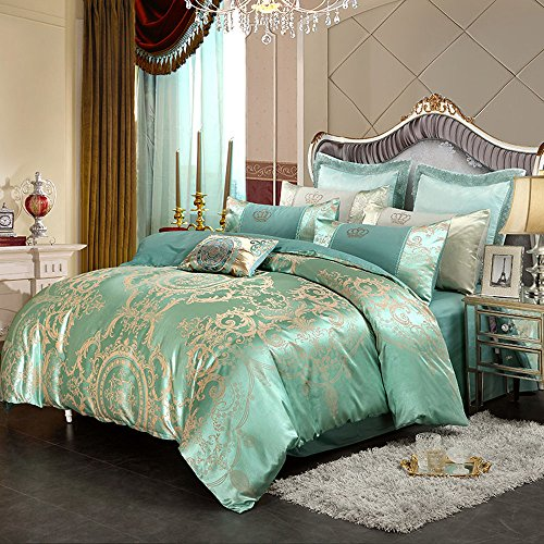 EDressy Home Textiles Duvet Cover Stes,Cotton Satin Jacquard