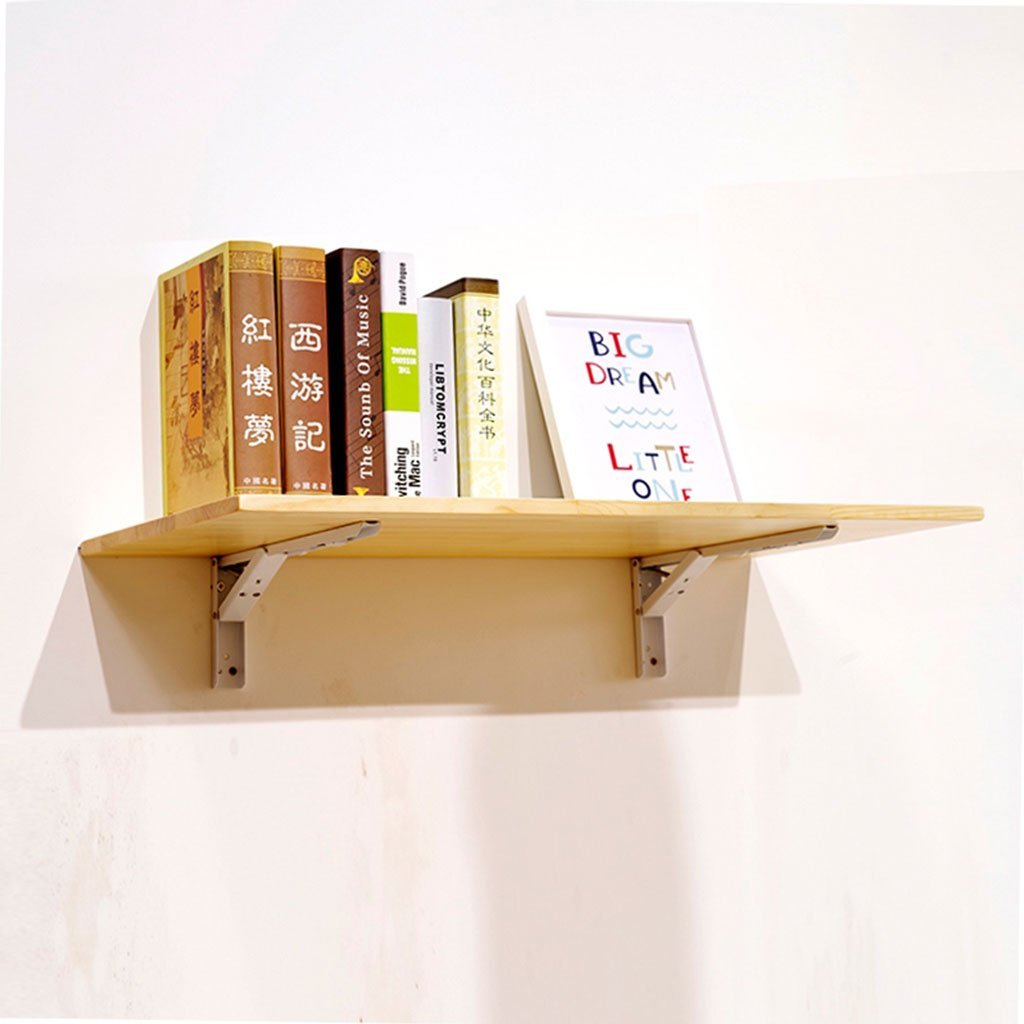 LTJTVFXQ-shelf Wall Folding Table Folding Table Room Wall Household Wall Shelf Board Wall-mounted (Size : 4030cm)