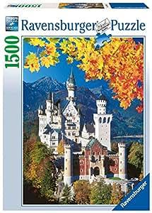 Ravensburger - Neuschwanstein en otoño, puzzle de 1500 piezas (16386 1)