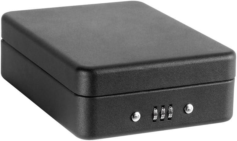 Arregui C9427 Caja De Seguridad Con Cable Para Fijación, Negro ...