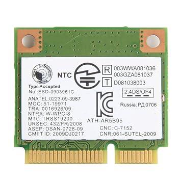 Amazon.com: Atheros AR5B95 ath-ar5b95 802.11b/g/n 150 Mbps ...