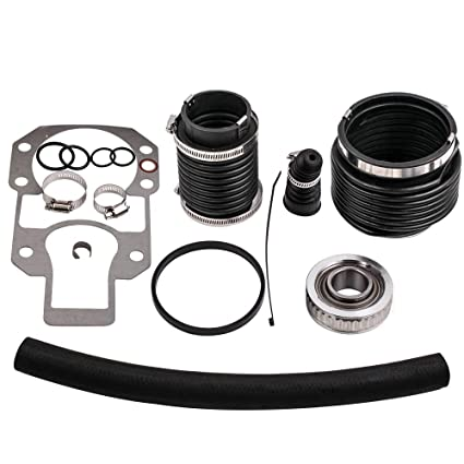 Amazon com: Transom Bellows Seal Repair Kit w/Gimbal Bearing