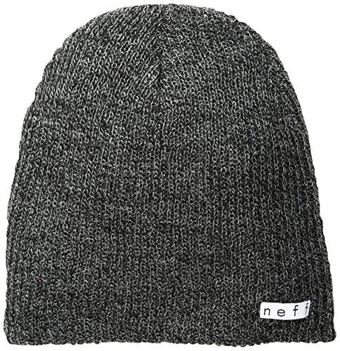 Neff Daily Heather Beanie Hat  Black Grey  One Size