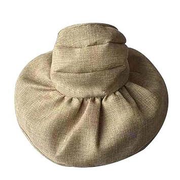 Beach Straw Summer Hat Wide Brim Bucket Hat Simplicity Women s Sun Visor  Cap d983c5c56f3