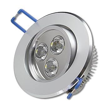 Großartig 12x 3W LED Spot Einbauleuchte Warmweiß Einbau Strahler Set Decken  XI78