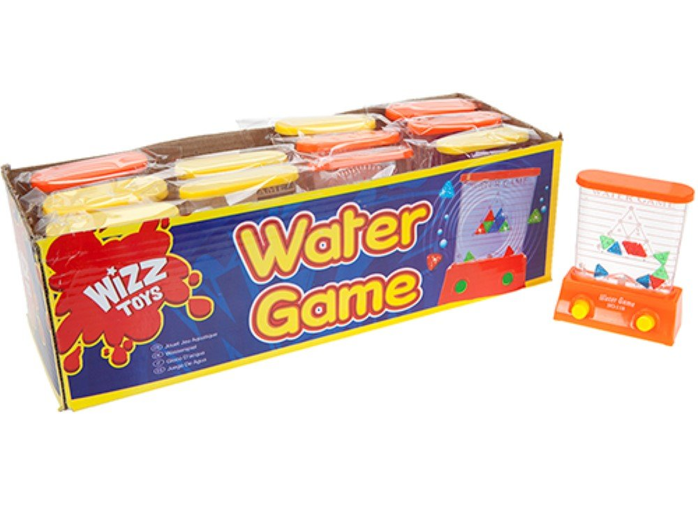 Vintage Retro Water Game. Mini version of the game from the 70s.