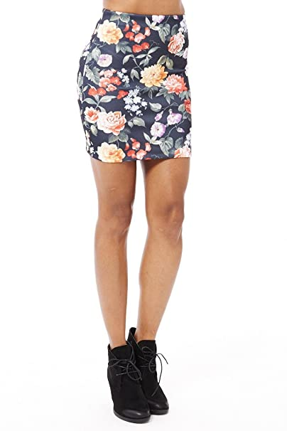 Para mujer Diseño de flores de traje de neopreno para mujer Mini ...