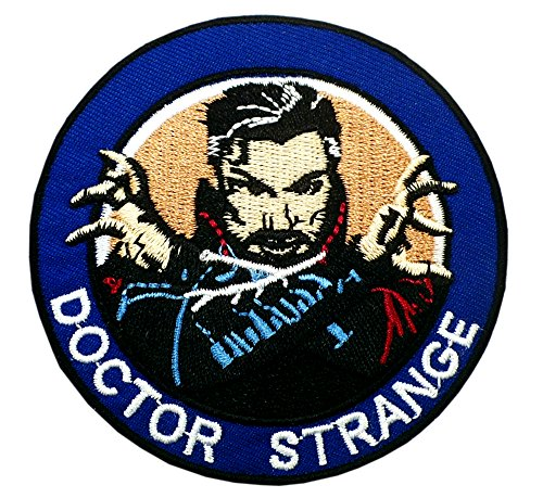 AVENGERS INIFINTY WAR Patch - DOCTOR STRANGE - Superhero Comics Logo Character Theme Series 2018 New Marvel Movies Embroidered Sew/Iron on Badge DIY (Diy Zombie Doctor Costume)