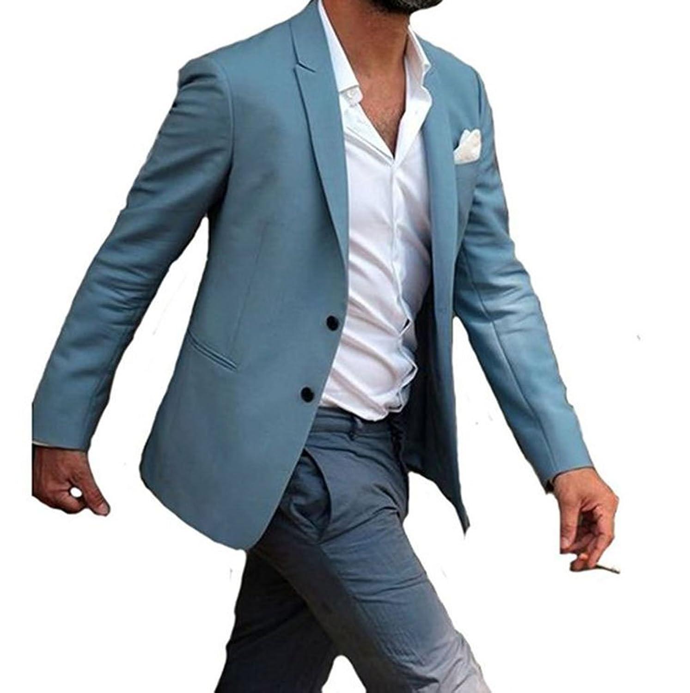 Attractive Blue Wedding Tuxedos Gift - Wedding Dress - googeb.com