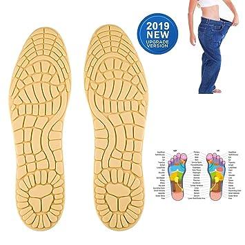 Reflexzonenmassage der Füße verlieren Gewicht