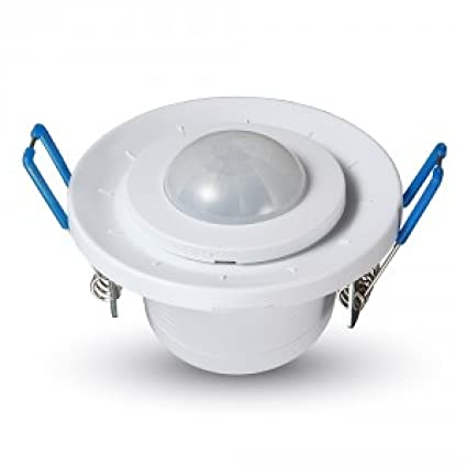 V-TAC vt-5091 – Sensor de Movimiento por Infrarrojos a empotrar Techo Ajustable