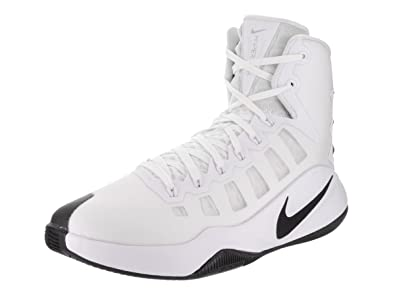 NIKE Mens Hyperdunk 2016 Basketball Shoes 8 DM US White