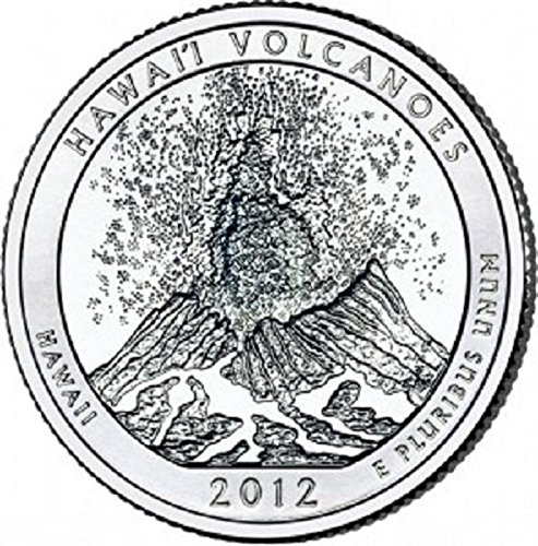 National Bank Stock - 2012 - D Hawaii Volcanoes National Park, HI, Quarter Rolls