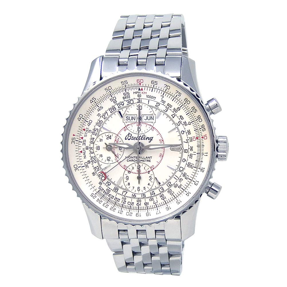 Breitling Montbrillant Automatic-self-Wind Male Watch A21330 (Certified Pre-Owned)