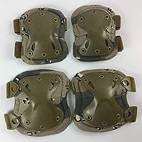 AdorabFruit Militaire Tactische Kniebeschermers Set Combat Airsoft Paintball Gear Jacht Apparatuur Elleboog Protector…