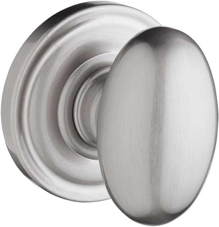 Baldwin Reserve 9BR3530-021 Traditional Ellipse Privacy Knob in Satin Nickel