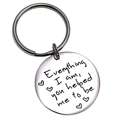 Amazon.com  LParkin Everything I Am You Helped Me to Be Keychain ... dfc3108f8d