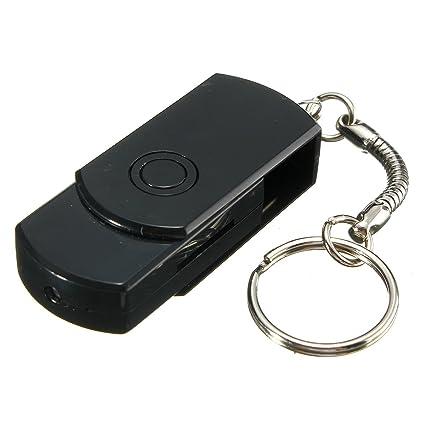 SAFETYON Mini Cámaras Oculta de Vigilancia en Forma de USB HD 720P Portátil Detección de Movimiento