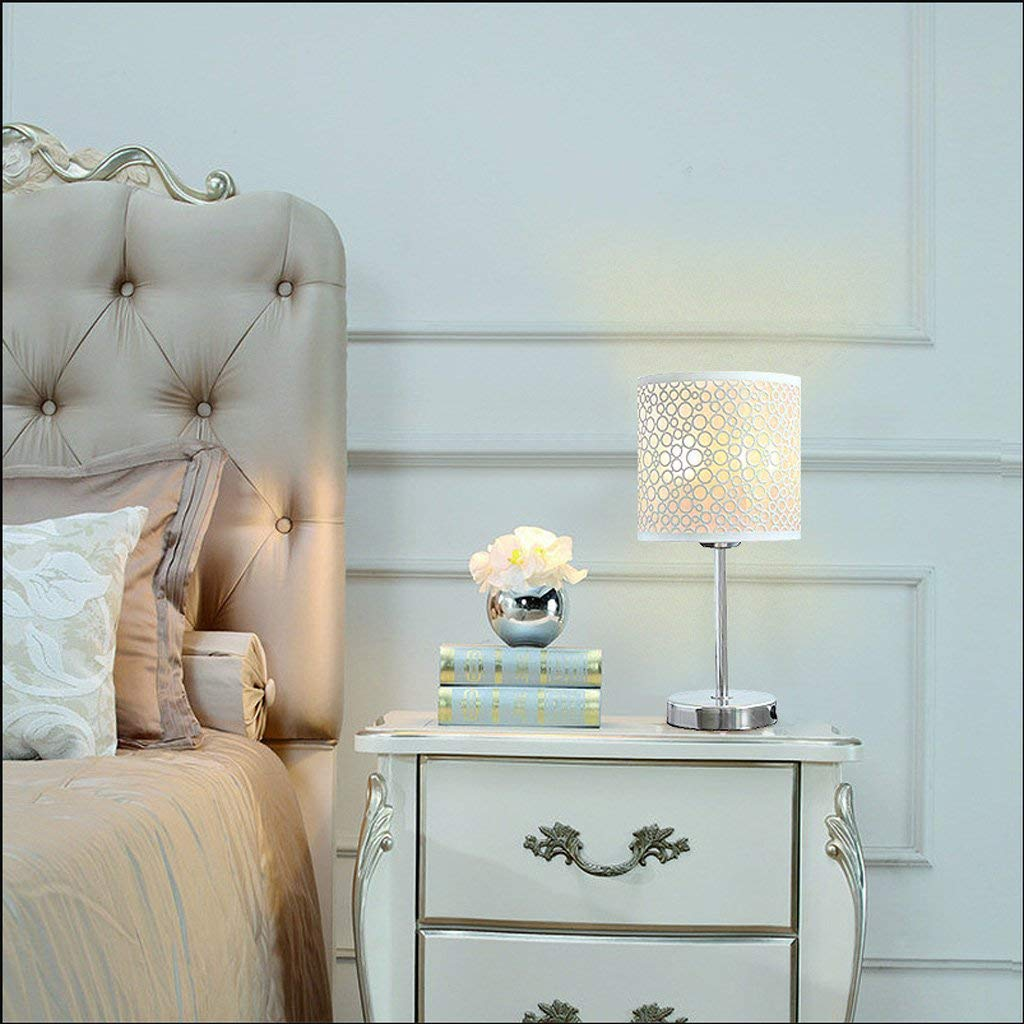 AAWPP Tischlampe Modern Nordic Hohle Eisen Dimming Open Light