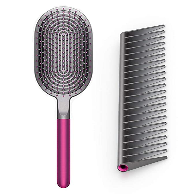 Dyson Designed Detangling Comb and Paddle Brush