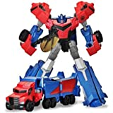 Transformers T-Warrior Metal Gövde Optimus Prime Robot Araba