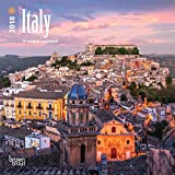 Italy 2018 7 x 7 Inch Monthly Mini Wall Calendar, Scenic Travel Europe Italian Venice Rome (Multilingual Edition)