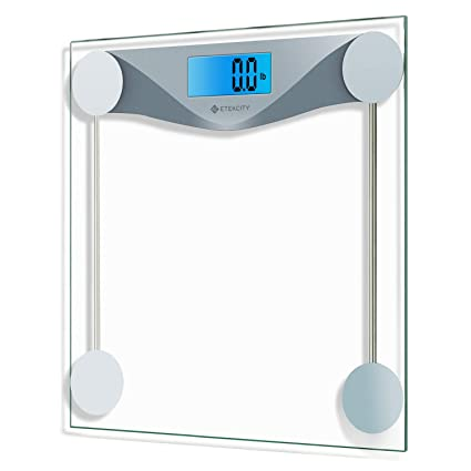 Bathroom Scales Digital Body Weight Bathroom Scale With Body Tape Measure 400 Pounds Scales