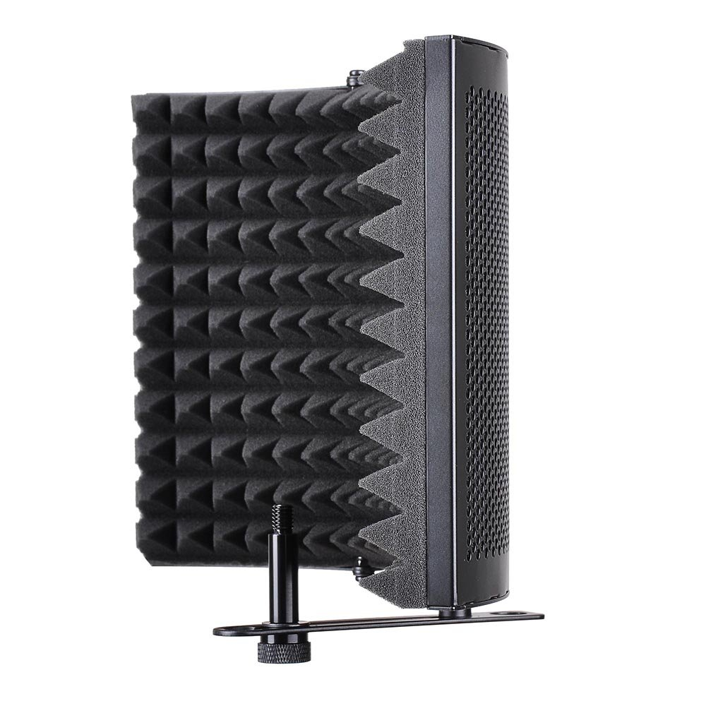AW Studio Microphone Isolation Shield Acoustic Foam Panel Soundproof Filter Recording Panel Stand Mount by AW (Image #2)