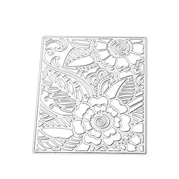 Lavany - Troqueles de corte de mariposa para hacer tarjetas, flores de encaje, manualidades