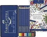 Faber-Castell ART GRIP Aquarelle Watercolor Pencil Set 12-Color Set