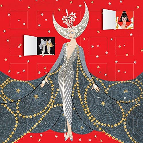 Night Advent Calendar - Erte Queen of the Night advent calendar