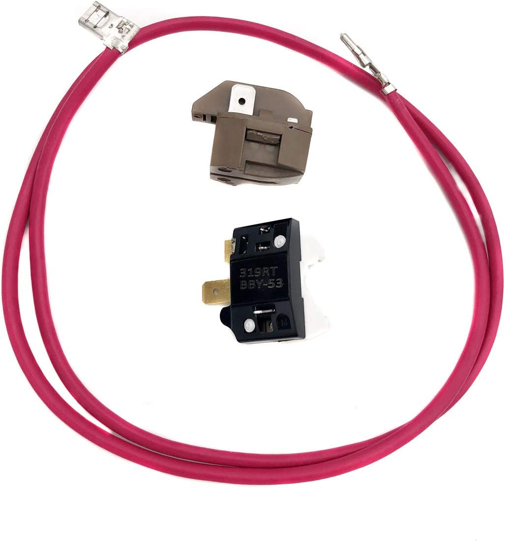 Compressor Relay Overload Kit Replacement for Part# 4387535 14210139 2154760 Replaces 2159596 4357210 4387767 586234 AH371273 AP3108472 EA371273 P Fit for Whirlpool,Maytag,KitchenAid Refrigerators