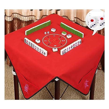 Nuoen Pieghevole Ricamo Copertura Per Tavolo Mahjong Poker