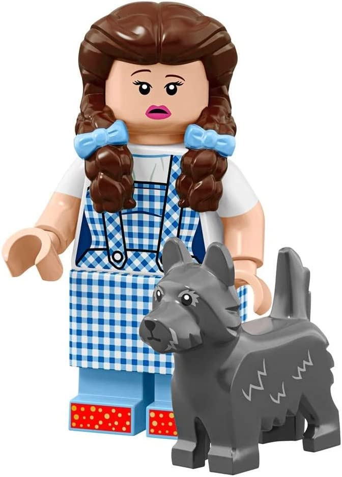 Sealed Pack Dorothy Gale /& Toto LEGO The Movie 2 Wizard of OZ Collectible Minifigure