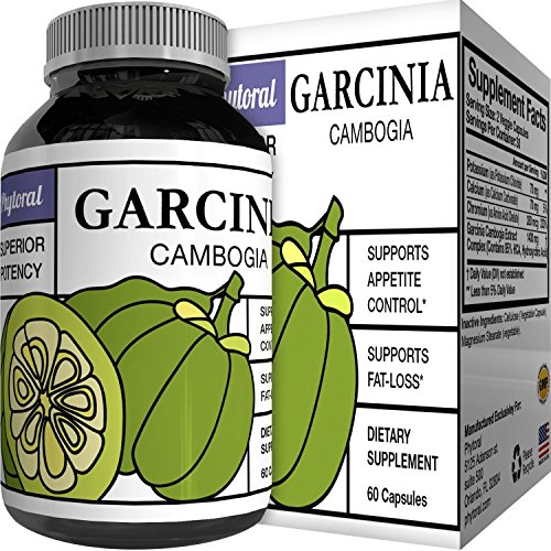 World Class Vitamins Pure Garcinia Cambogia Extract Supplement with 95% HCA Weight Loss Pills Metabolism Booster Natural Carb Blocker and Appetite Suppressant 60 Veggie Capsules