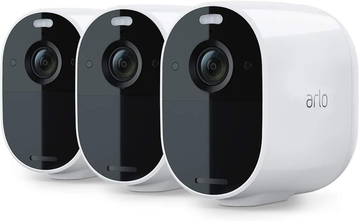 VMA3600 /étanche parfait pour garder vos cam/éras charg/ées 24//24 Panneau solaire Blanc fixation adapatative Accessoire Arlo Essential