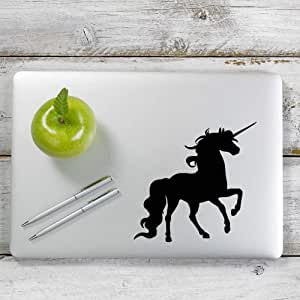 Laptop and More # 1062 Unicorn Decal Sticker for Car Window