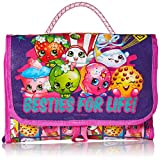 Shopkins Girls' Collectible Carry Case, Purple