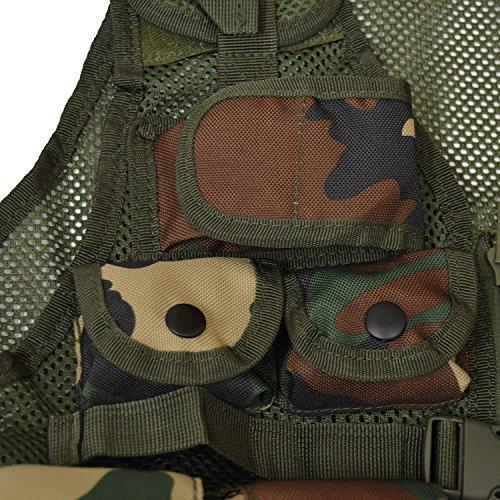 Nitehawk - Gilet Tactique/de Combat - Style Militaire/Police - Enfant 4