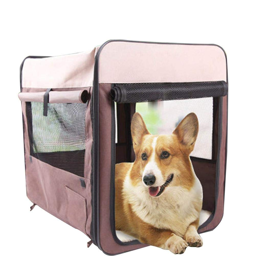 Funihut Pet House y sofá, Interior y Exterior Portátil Foldable Dog Room/Cama para Gato Jaula para Mascotas Caseta Multifuncional Plegable Transpirable ...