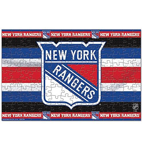 NEW YORK RANGERS OFFICIAL LOGO 150 PIECE JIGSAW PUZZLE