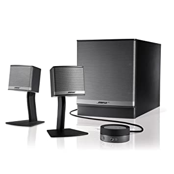 Bose Sound System >> Bose Companion 3 Multimedia Speaker System