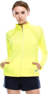 product image for Kurve Women's Full Zip Jacket – Long Sleeve Lightweight Track Top Active Sport Running Workout Yoga Athletic Performance
