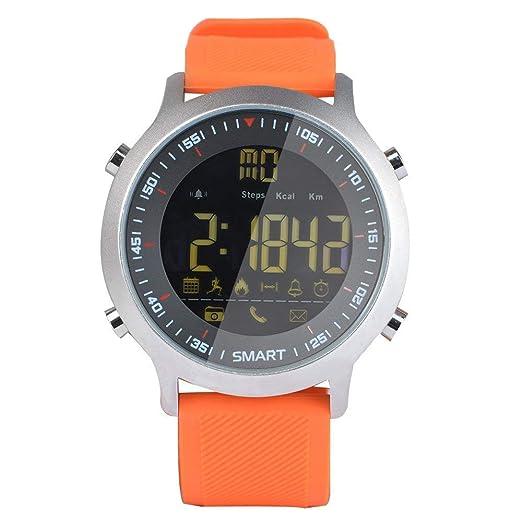 Reloj Elegante del Deporte Zumbador Alarma de Sonido Monitor Deportivo Relojes de la cámara EX18 Dial