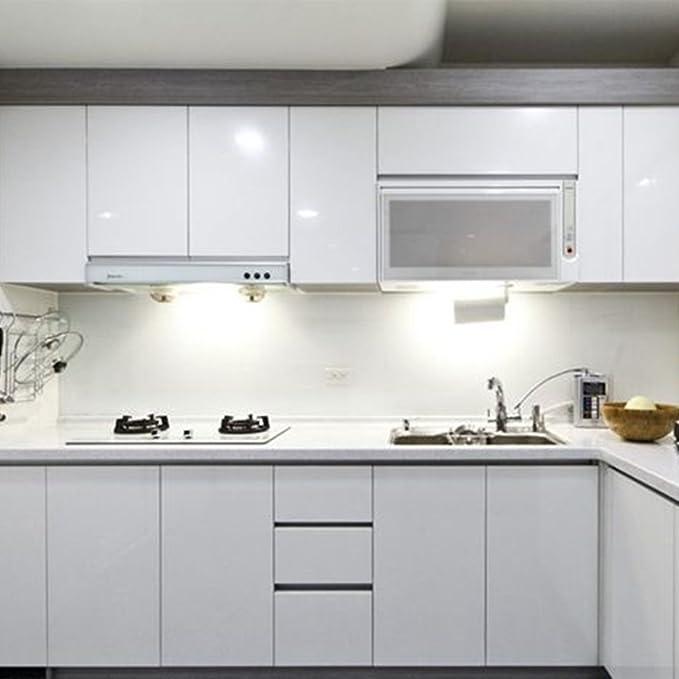 Amazon.de: KINLO 2pcs Elegant Selbstklebend Küchenfolie PVC 0.61x5M ...